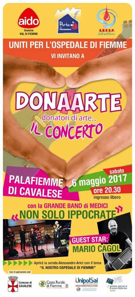donaarte cavalese Palafiemme Cavalese Dona Arte spettacolo per lOspedale di Fiemme