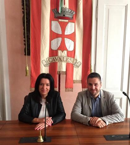 Maria Elena Gianmoena e Tiziano Berlanda