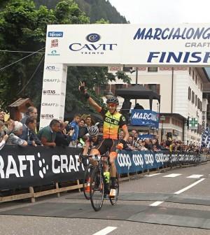 marcialonga cycling 2017 arrivo