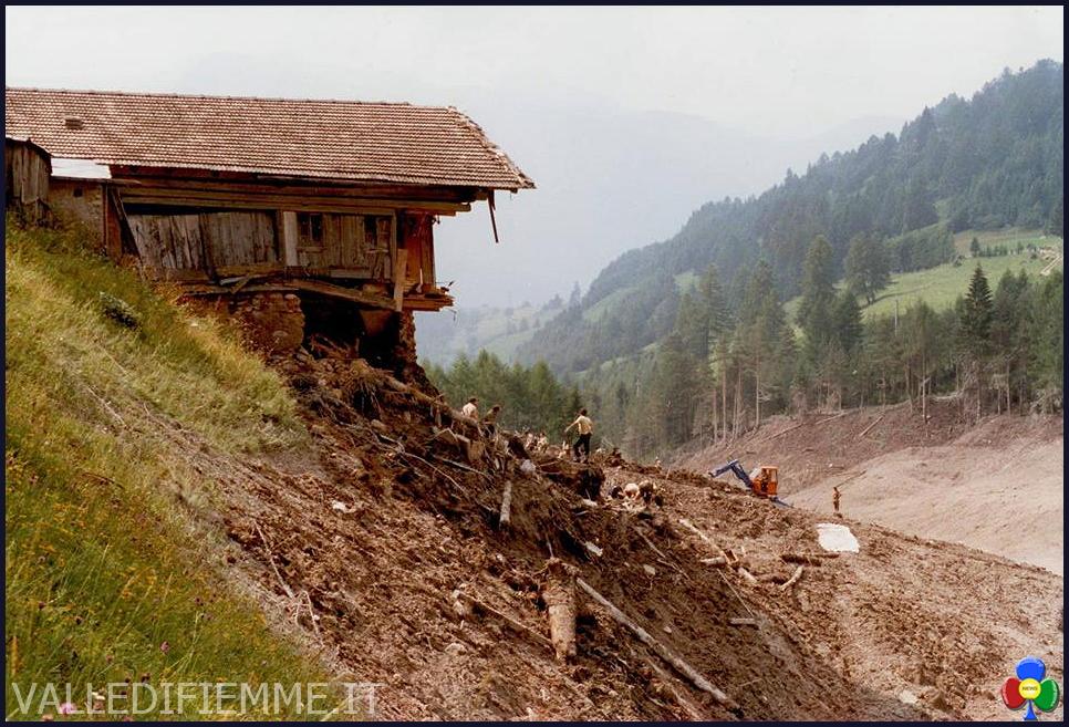 STAVA 1985 maso 19 luglio, 32°anniversario della catastrofe di Stava