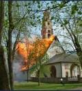 incendio pieve cavalese 29 aprile 2003