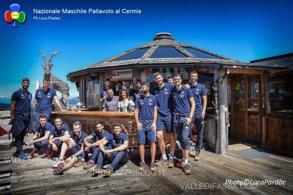 nazionale maschile pallavolo in valle di fiemme sul cermis2 La Nazionale Maschile di Volley prepara gli Europei in Fiemme
