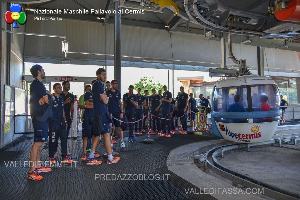 nazionale maschile pallavolo in valle di fiemme sul cermis5 La Nazionale Maschile di Volley prepara gli Europei in Fiemme