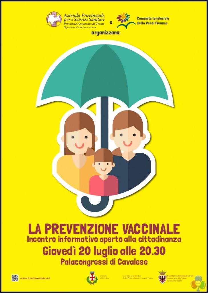 prevenzione vaccinale cavalese 729x1024 La prevenzione vaccinale, incontro informativo a Cavalese