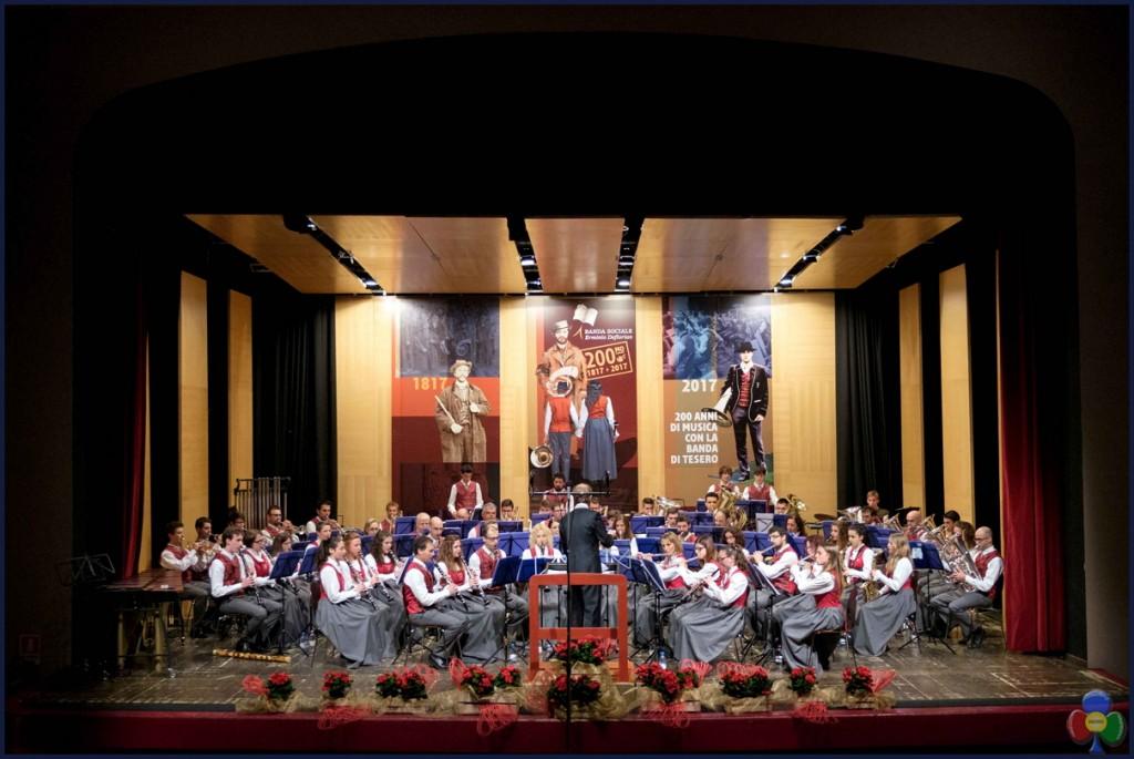 """Il Bicentenario della Banda Sociale Erminio Deflorian di Tesero 1024x685 Banda di Tesero, un """"grazie"""" lungo 200 anni"""