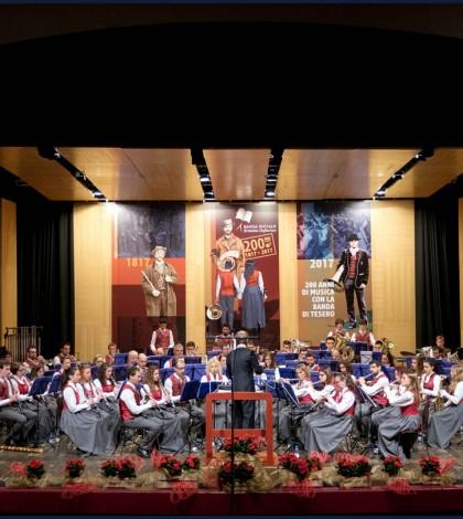 Il Bicentenario della Banda Sociale Erminio Deflorian di Tesero