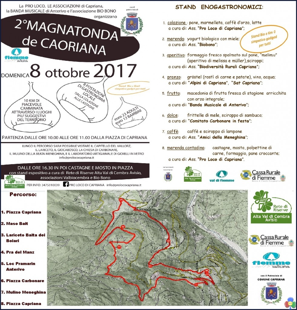 magnatonda capriana 981x1024 2a MAGNATONDA  de Caoriana si cammina degustando