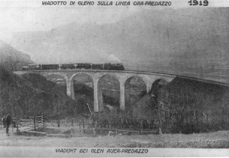 trenino di fiemme 1919 A Castello per il centenario della Ferrovia di Fiemme
