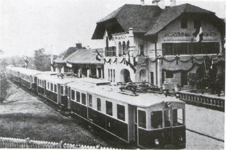 treno di fiemme A Castello per il centenario della Ferrovia di Fiemme