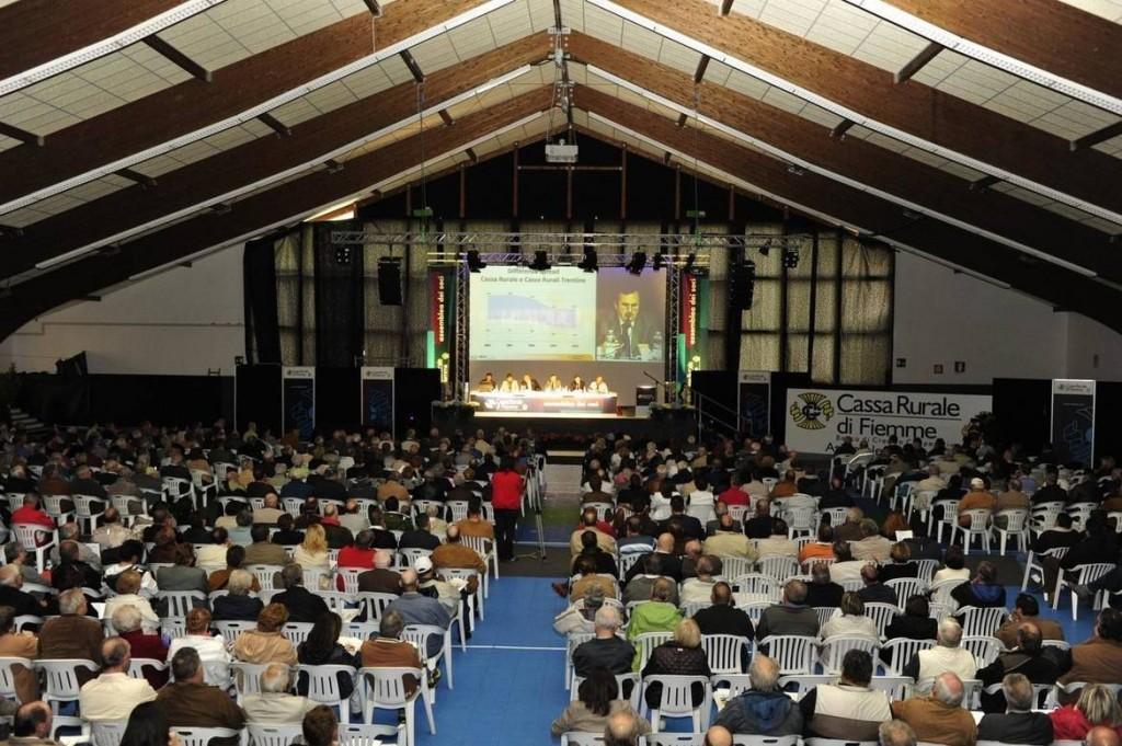Cassa Rurale di Fiemme assemblea soci 1024x681 Assemblee Straordinarie Casse Rurali di Fiemme verso la fusione