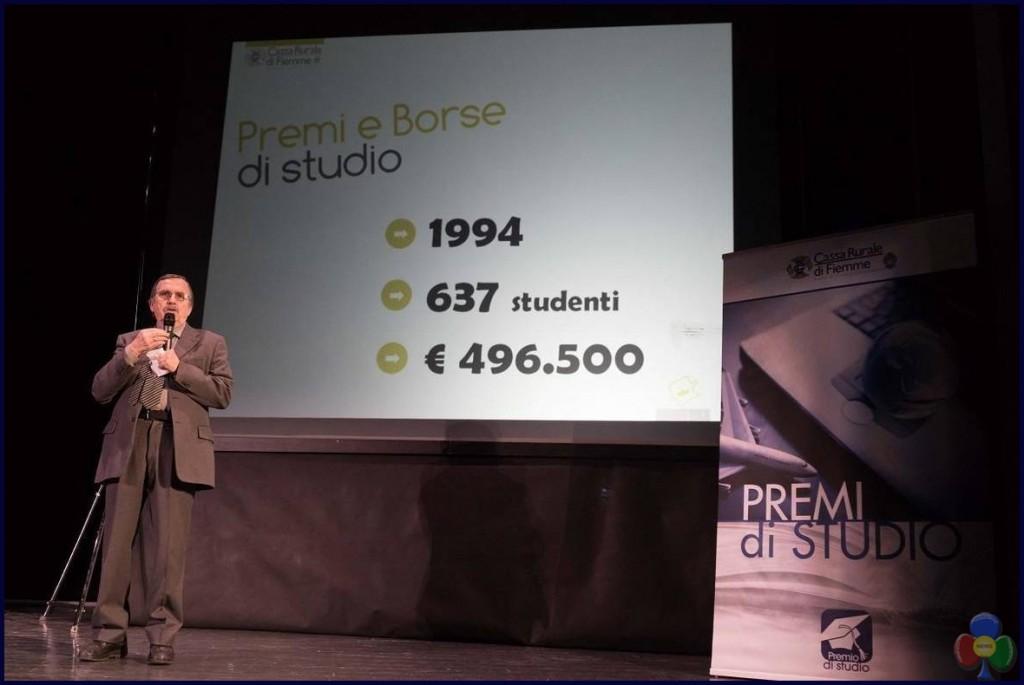 studeni premiati fiemme 2017 zanon 1024x685 58 studenti premiati dalla Cassa Rurale di Fiemme
