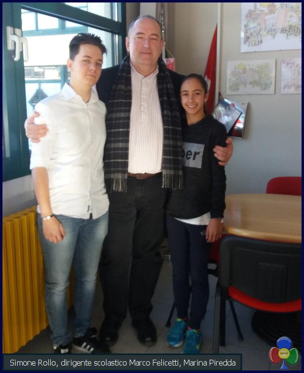 marina piredda Omaggiati tre studenti de La Rosa Bianca