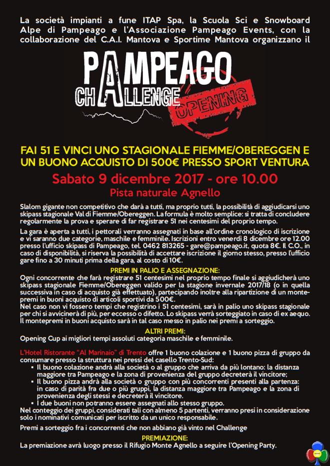 pampeago 51 challenge 2017 Pampeago Challenge 51: vinci con 51 centesimi di secondo