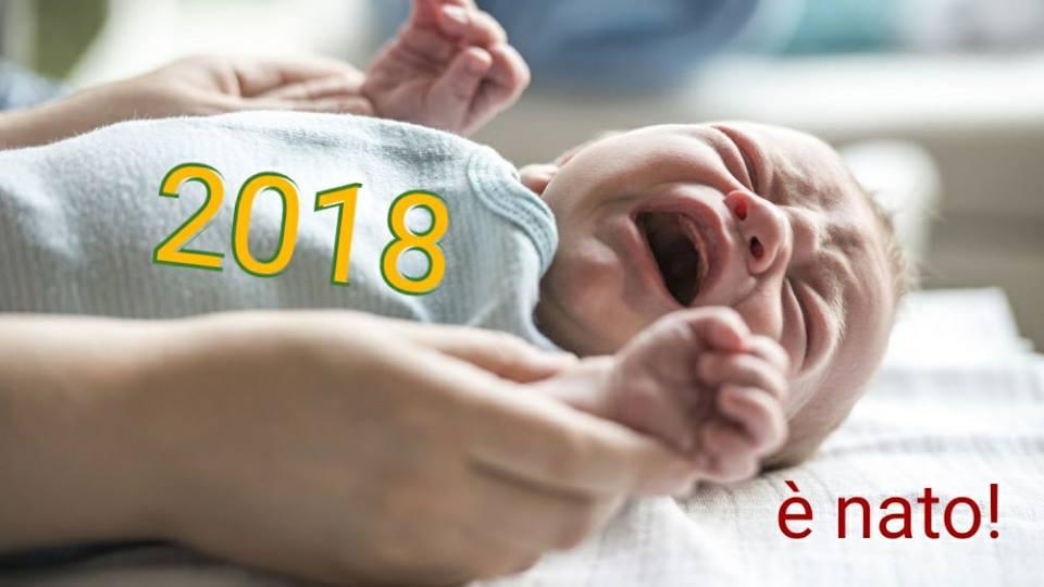 è nato 2018 Buon 2018, gli auguri di Parto per Fiemme