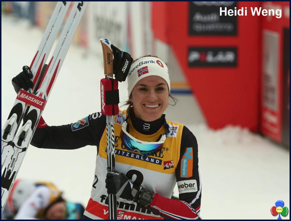 Heidi Weng tour de ski Tour de Ski, Dario Cologna e Heidi Weng firmano la Final Climb