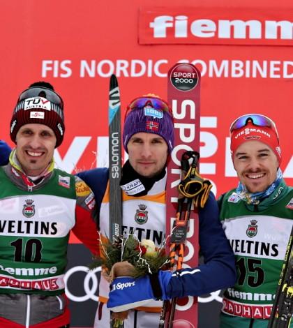Individual Gundersen podio