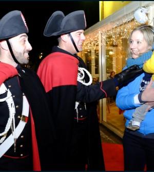 carabinieri cavalese mercatino natale