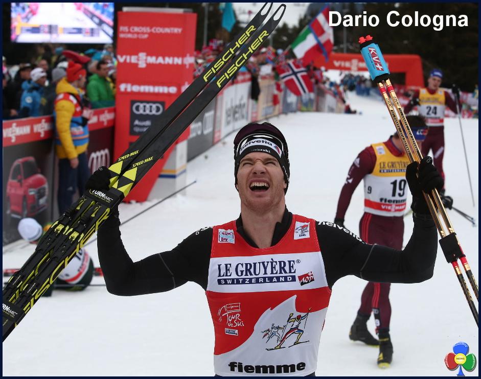 dario cologna tour de ski 2018 a Tour de Ski, Dario Cologna e Heidi Weng firmano la Final Climb