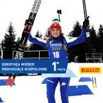 dorothea wierer prima 150x150 Sochi 2014, Biathlon: grazie ragazzi, è la medaglia più bella!