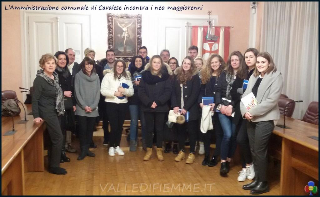 neo maggiorenni cavalese 1999 1024x632 L'Amministrazione comunale di Cavalese incontra i neo maggiorenni