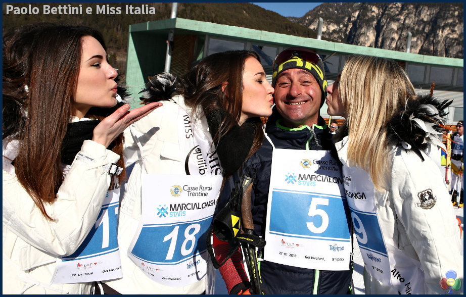 paolo bettini miss italia STARS, MINIMARCIALONGA e YOUNG, Il cuore e la passione di Fiemme e Fassa