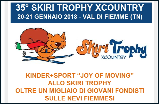 skiri 35.a edizione dello Skiri Trophy XCountry in Val di Fiemme