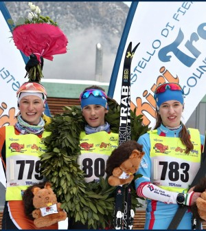 skiry trophy country fiemme 2018 podio femm