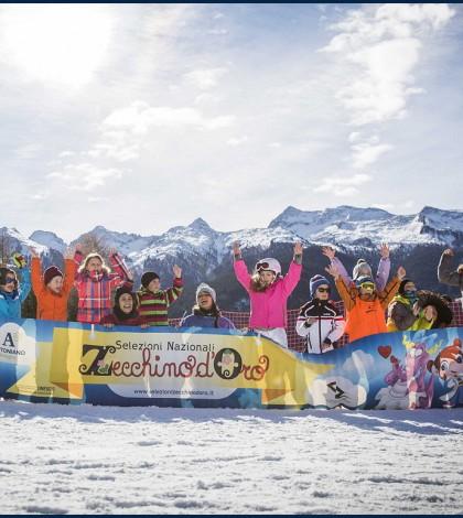 Settimana Bianca dello Zecchino d'Oro sulla neve Val di Fiemme 2