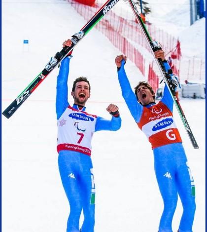 giacomo bertagnolli e fabrizio casal Pyeongchang 2018