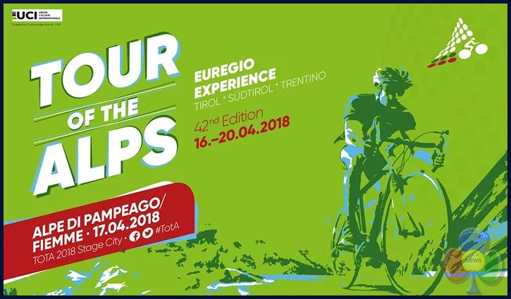 tour of the alps 2018 Tour of the Alps 2018 arrivo a Pampeago   Orari transito