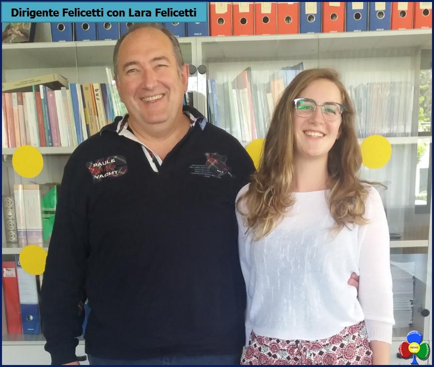 lara felicetti4 Lara Felicetti premiata dal Console di Francia