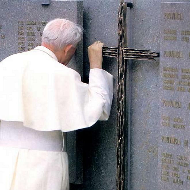 papa giovanni paolo ii a stava Il Vescovo di Belluno al 33° anniversario della catastrofe di Stava