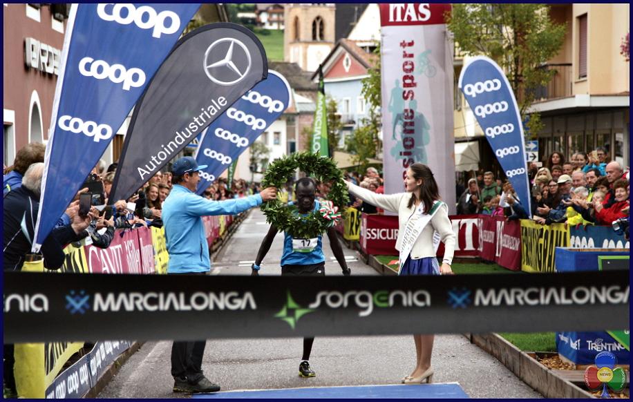 Marcialonga Running Ousman Jaiteh Marcialonga Running, Ousman Jaiteh da Lampedusa al trionfo