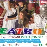"""CORSI PER GIOVANI PROTAGONISTI 150x150 """"AVETE MAI PROVATO A ESSERE DONNE?"""" A teatro per Lifeline Dolomites"""