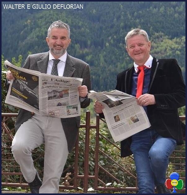 WALTER E GIULIO DEFLORIAN ROVER: il borgo dimenticato di Fiemme è pronto per un nuovo progetto