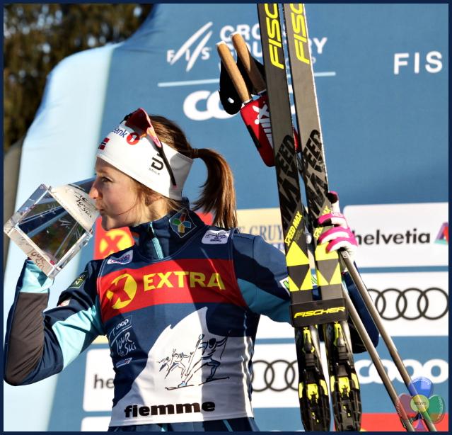 OESTBERG 1 Final Climb femminile sul Cermis al 13° Tour de Ski