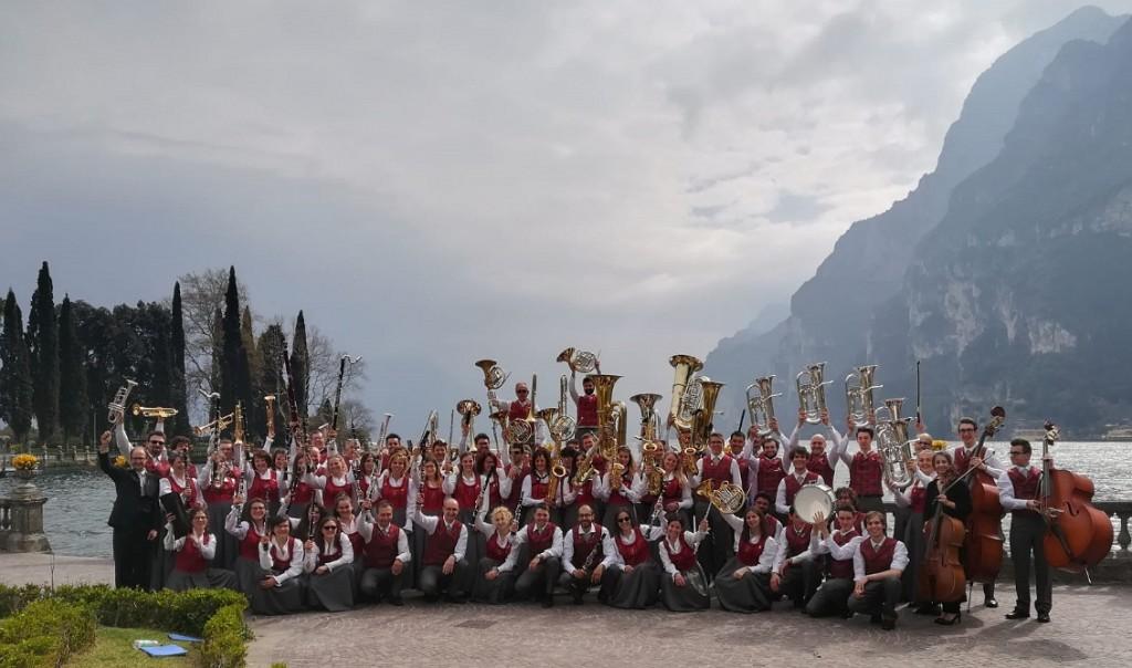 banda di tesero a riva del garda 2019 1024x604 La Banda di Tesero si aggiudica il 3° Premio Flicorno dOro