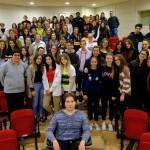 NAZIONALE PALLAVOLO ALLA ROSA BIANCA 150x150 David Bellatalla incontra gli studenti de La Rosa Bianca