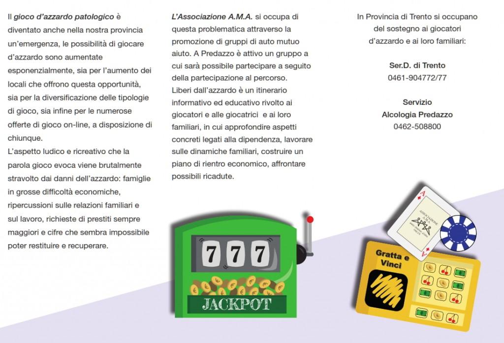 """liberi dallazzardo 1 1024x697 """"DIPENDE DA NOI"""": COMUNITÀ DI VALLE E PROGETTO 92 CONTRO LE DIPENDENZE"""