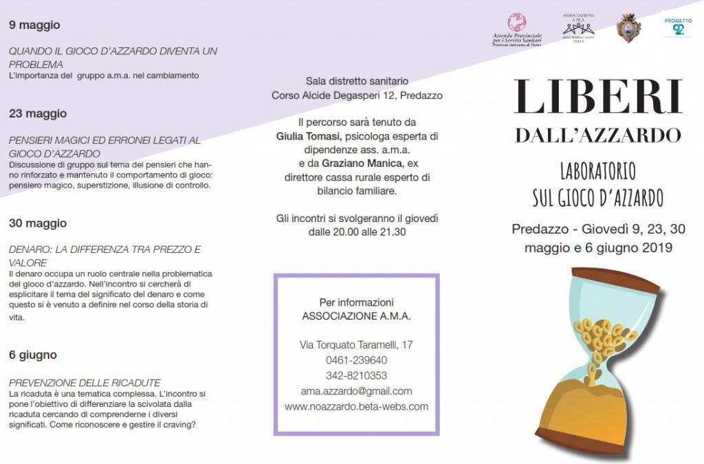 """liberi dallazzardo 1024x675 """"DIPENDE DA NOI"""": COMUNITÀ DI VALLE E PROGETTO 92 CONTRO LE DIPENDENZE"""