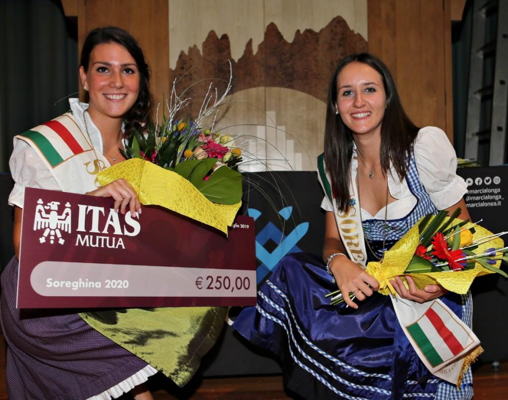 michela croce e michela delvai soreghine marcialonga 1024x806 Michela Croce è la nuova Soreghina della Marcialonga 2020