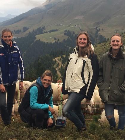 Chiara Trettel e le sue figlie