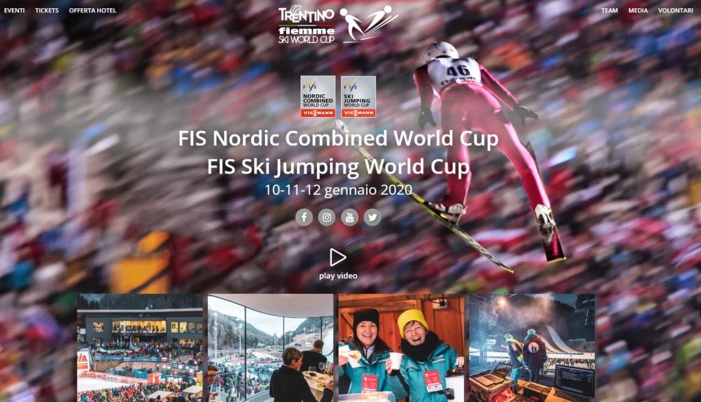 coppa del mondo salto predazzo fiemme 2020 1024x588 Salto, in vendita i biglietti per la gare di Coppa del Mondo a Predazzo