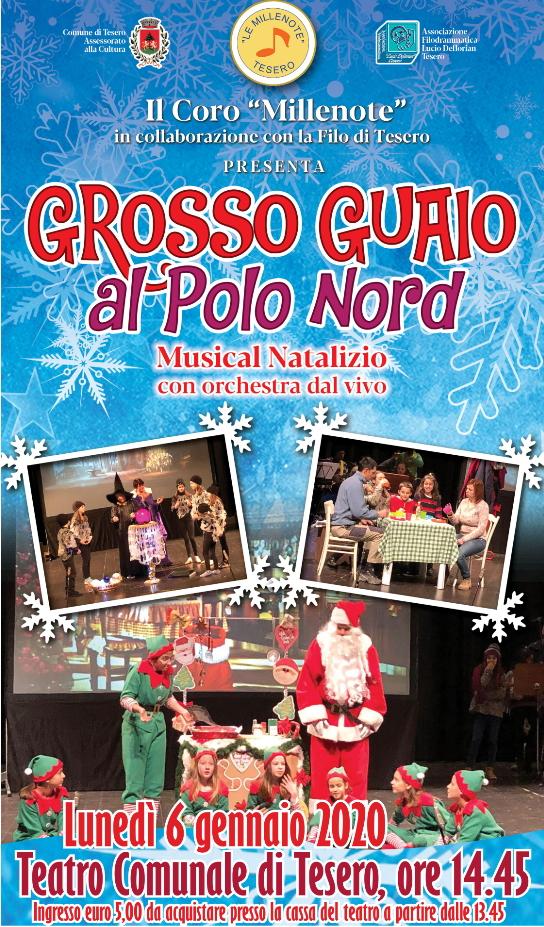 """grosso guaio al polo nord """"GROSSO GUAIO AL POLO NORD"""" in scena a Tesero"""