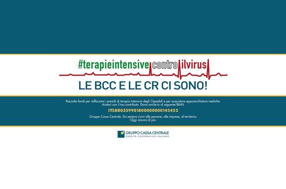 terapie intensive coronavirus Iniziative delle Casse Rurali: Proteggiamoci insieme dal coronavirus